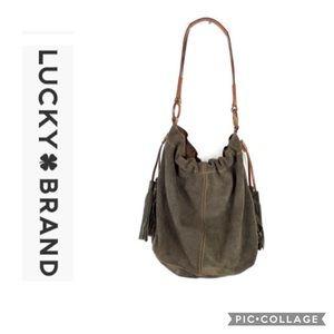 Lucky Brand Large Hobo Bag